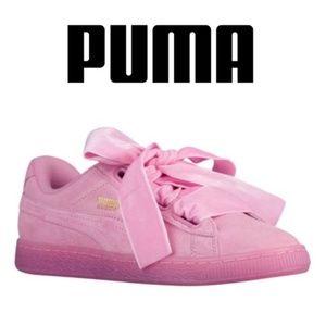 Puma Pink Suede Size 8